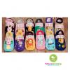 ถุงเท้าเด็กข้อสั้นสไตล์เกาหลี สกรีนลายการ์ตูน มีพื้นกันลื่น ขนาด 6 เดือน ถึง 2 ปี