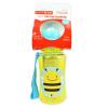 Skip Hop ขวดน้ำดื่มแบบมีหลอดดูด ลายผึ้ง Skip Hop Zoo Straw Bottle