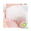 กางเกงในคนท้องพื้นขาวลายกลมจุด สีชมพู - 0261