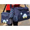 กระเป๋าสัมภาระคุณแม่ รูปรถสีน้ำเงิน มี 3 ชิ้น
