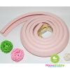 ยางกันชนกันกระแทก สีชมพู แบบม้วน ยาว 2 เมตร ใช้ติดขอบตู้ขอบเตียงหรือส่วนที่แหลมช่วยป้องกันเด็ก
