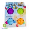 ลูกบอลยางนิ่ม บีบมีเสียง Soft Balls