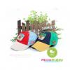 หมวกแก๊ปเด็กปักหน้าหมี แบรนด์เกาหลี Winghouse