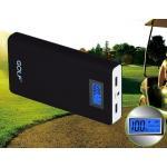 แบตสำรอง Power Bank GOLF LCD 15600 mAh สีดำ