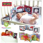 Tiny Love หนังสือผ้าติดเตียง 3 มิติ รูปสัตว์สวยงาม ของใช้เด็กแรกเกิด