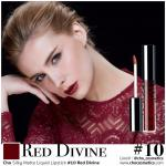 Cho silky matte liquid lipstick 10 Red Divine