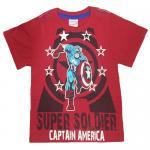 เสื้อยืดเด็ก MARVEL Captain America สีแดง Size - 3