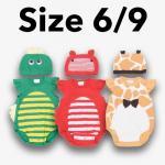 ชุด เด็กอ่อน mon OURS มีหมวก จระเข้,มังกร,ยีราฟ Size 6/9