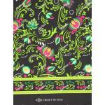ผ้าถุงเอมจิตต์ ec10429 ดำเขียว