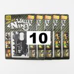 การ์ดอเนกประสงค์ Wallet Ninja (แพ็ค 10 อัน)