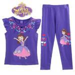 เจ้าหญิงโซเฟีย - Sofia the first สีชม่วง - Size 4