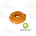 ยางกันชนกันกระแทก สีน้ำตาลเหลือง แบบม้วน ยาว 2 เมตร ใช้ติดขอบตู้ขอบเตียงหรือส่วนที่แหลมช่วยป้องกันเด็ก