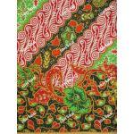 ผ้าถุงแม่พลอย mp0098 เขียว-แดง
