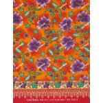 ผ้าถุงเอมจิตต์ ec10421 แดงส้ม