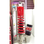 (Click 125i) โช้คอัพหลังเดี่ยว YSS รุ่น New C Euro สำหรับ Honda Click 125 i,Zoomer X สี ดำ/แดง