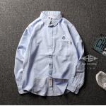 เสื้อเชิ้ตแขนยาวชายเสื้อ สไตล์ญี่ปุ่น (สินค้าพรีออเดอร์ รอสินค้า15-20 วัน )