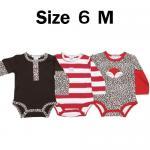 ชุด เด็กอ่อน MON CARAMEL ลายเสือดาว Size 6