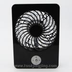 พัดลม Digital Lithium Battery Fan สีดำ
