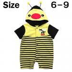 ชุดบอดี้สูท ผึ้งน้อย เหลือง Size 6-9