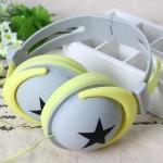 หูฟัง DiiD Headphone รุ่น IX-7 - สีเหลือง-เทา