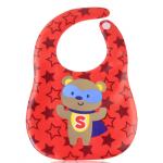 BIBEVA : สีแดงลายหมีซุปเปอร์แมน