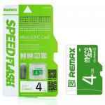 Memory Micro SD Card Remax 4GB class4