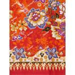 ผ้าถุงเอมจิตต์ ec11420 แดงส้ม
