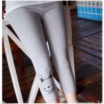 กางเกงเลคกิ้ง(เทา)