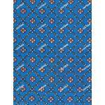ผ้าลายไทย no.0009 สีฟ้า
