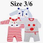 ชุดเด็กอ่อน mon OURS สัตว์ babies Size 3/6