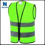 เสื้อกั๊กสะท้อนแสง สีเขียวเรืองแสง สั่งขั้นต่ำ 500ตัว ( รอสินค้า 15-20 วัน )