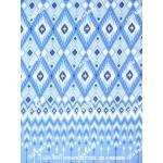 ผ้าถุงเอมจิตต์ ec4681 น้ำเงิน