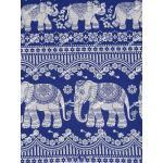 ผ้าถุงเอมจิตต์ ec9929 น้ำเงิน