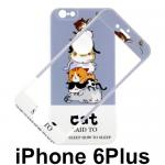 เคส iPhone 6Plus YOTOO 2in1 ลายแมว ม่วง