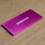 แบตสำรอง Power bank 20000 mAh Samsung สีชมพู