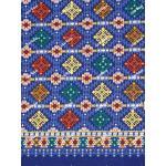 ผ้าถุงเอมจิตต์ ec9937 น้ำเงิน