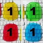 เจลทําความสะอาด (แพ็ค 4 ชิ้น) ชิ้นละ 30 ชมพู-1 เขียว-1 ฟ้า-1 เหลือง-1