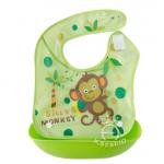 สีเขียวลายลิง