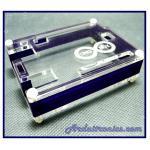 กล่องอะคริลิค (Uno Box) สีน้ำเงินเข้ม