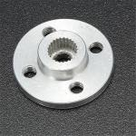 Aluminum Round Servo Mount + Screws (MG995, MG996R, S3003, TR213)