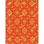 ผ้าลายไทย no.0016 ส้ม