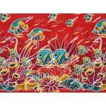 ผ้าถุงเอมจิตต์ ec11419 แดง