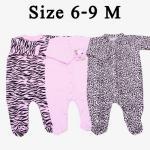ชุด เด็กอ่อน Huggy Bears ยีราฟ (Size 6-9)