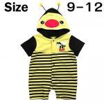 ชุดบอดี้สูท ผึ้งน้อย เหลือง Size 9-12