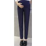 กางเกงคนท้องขายาวลายทาง สีน้ำเงิน LP1703 : Size 2XL