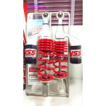 (PCX) โช้คอัพหลังคู่ YSS รุ่น G-Plus สำหรับ Honda PCX และ Nuovo อิลิแกนซ์ สี ดำ/แดง/ดำ