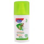 สเปรย์กันยุงและแมลง Chicco Zanza No Anti-Mosquito Spray Natural Protection 3m+