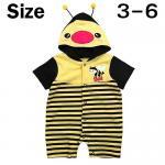 ชุดบอดี้สูท ผึ้งน้อย เหลือง Size 3-6