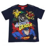 เสื้อยืดเด็ก jUSTICE LEAGUE สีกรมท่า - Size 6
