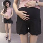 กางเกงคนท้องขาสั้น SP1705 สีดำ : Size 2XL